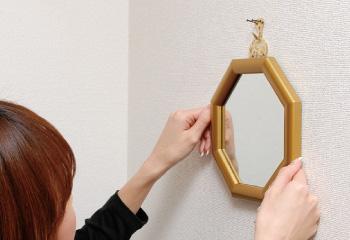 玄関用の風水鏡
