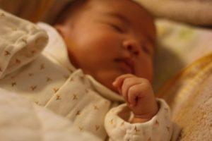 夢見る赤ちゃん