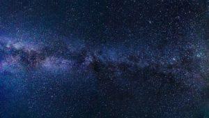 キラキラな夜空の星