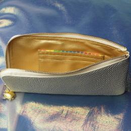 財布屋の白蛇財布 開封時